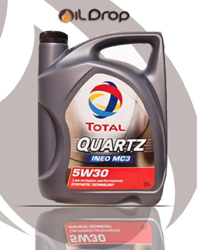 Total 5W-30 Quartz Ineo MC3 - 5 Liter Motoröl