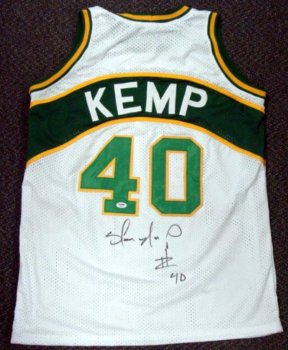 Shawn Kemp Autographed Jersey Buy Shawn Kemp Autographed