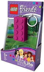 Lego Lights Friends 2 x 4 Brick Keylight (Violet)
