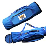 Fireside Patio (2057_9x12_Blue_Bag) Mat Carry Bag with Adjustable Shoulder Strap