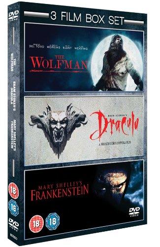 Wolfman Frankenstein Dracu IMPORT Anglais IMPORT Coffret De 3 Dvd Edition simple