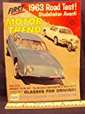 1962 62 July MOTOR TRENDS Magazine (Features: Road test Avanti & Chevrolet, Falcon Challengers, Maybach Zeppelin, Hillman Super Minx)