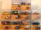 Mattel Matchbox Lesney Cars 10 Pack Series Superfast 40th Anniversary 1969-2009