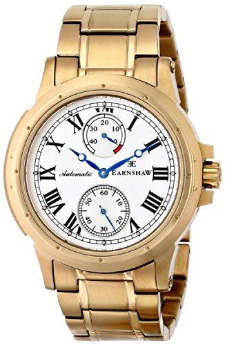 Earnshaw Men's ES-8007-33 Ashton Analog Display Automatic Self Wind Gold Watch