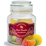 Cavendish & Harvey Candy Fruit Candies in Glass Jar, 10.5 oz / 300 gr (Tamaño: 10.5 Ounces)