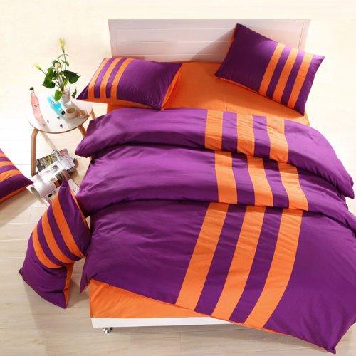 Includes Gizelle Duvet Cover and Down Alternative Comforter 8PC Bundle