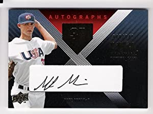 Buy MIKE MINOR 2008 USA Baseball National Team Signature Black AUTOGRAPH Rookie Card RC Numbered to 249... by USA Baseball