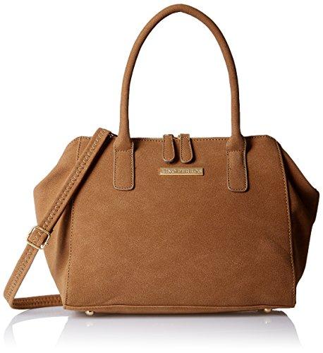 Lino Perros Women's Handbag (Brown) - B01KOHZBJS