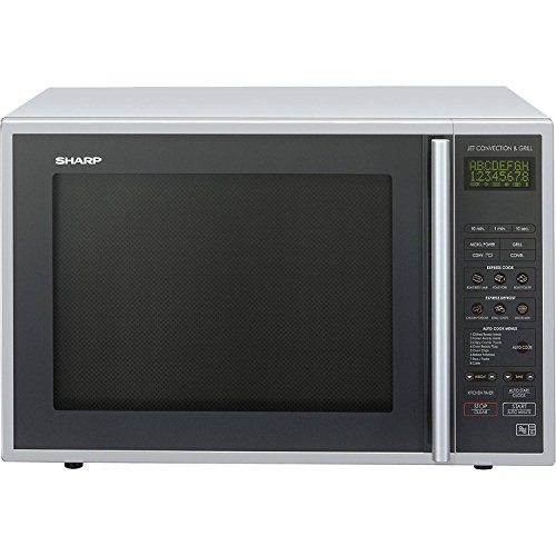 Sharp Combination Microwave, 40 Litre, 900 Watt, Silver
