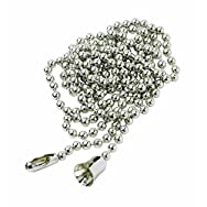 Leviton 8756 Do it Pull Chain-3' BRASS PULL CHAIN