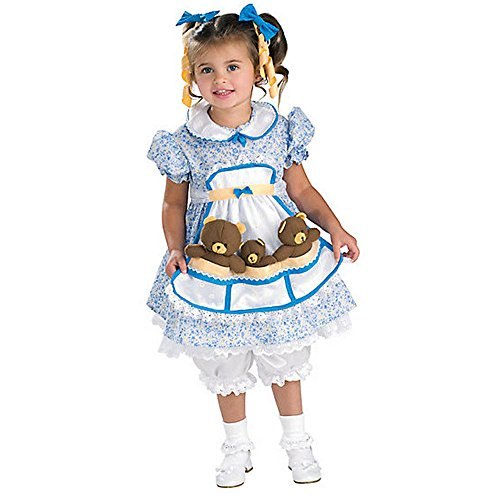 [Rubies Goldilocks Costume Toddler Multicolored] (Toy Story Halloween Costumes For Family)