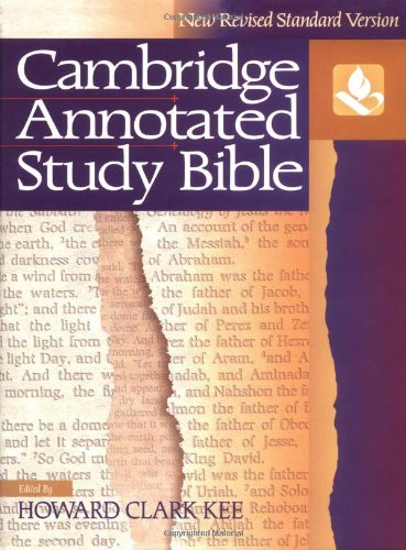 Cambridge Annotated Study Bible (New Revised Standard Version)