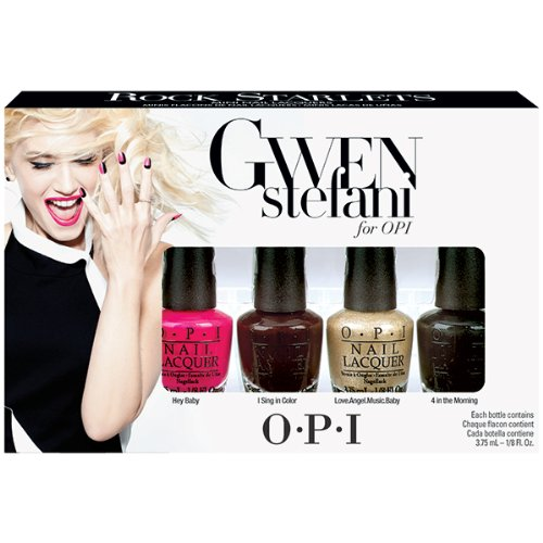 OPI Smalto per Unghie Mini Kit, Rock Starlets, Gwen Stefani Mini Set
