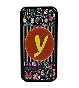PrintDhaba HTCM8bet Y D-3148 Back Case Cover for HTC ONE M8 (Multi-Coloured)