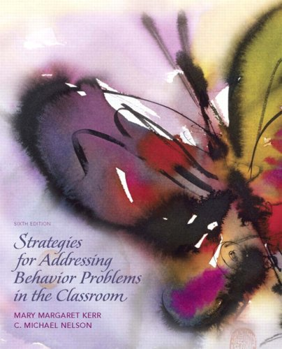 Strategies for Addressing Behavior Problems in the...