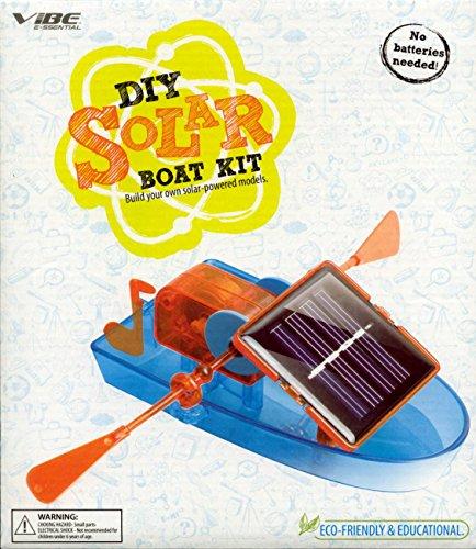 VIBE DIY SOLAR BUILD YOUR OWN SOLAR POWERED BOAT MODEL KIT - 1