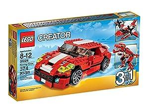 Lego Creator - 31024 - Jeu De Construction - Le Bolide Rouge