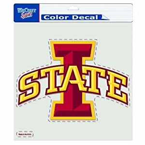 Buy NCAA Iowa State Cyclones 8-by-8 Inch Diecut Colored Decal by WinCraft