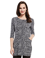 M&S Collection Animal Print Tunic