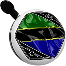 Bicycle Bell Tanzania 3D Flag by NEONBLOND