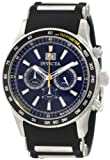 Invicta Flight Blue Dial Chronograph Mens Watch 1235
