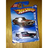 HOT WHEELS 2010 MUSCLE MANIA ON BECKETT CARD 10 OF 10 BLACK WITH RED STRIPES 69 PONTIAC FIREBIRD T/A