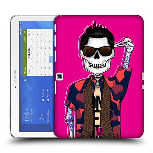 Head Case Designs Tattooed Hunk Swank Skulls Protective Snap-on Hard Back Case Cover for Samsung Galaxy Tab 4 10.1 T530 T531 T535