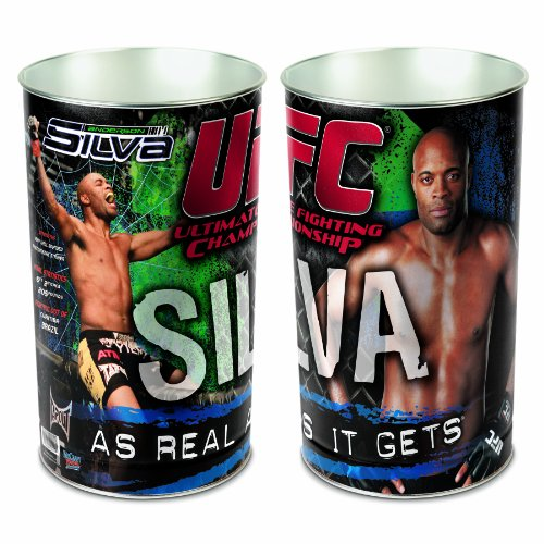 UFC Anderson Silva Wastebasket