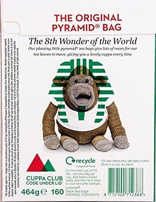 PG Tips Pyramid 160 Btl. 500g - Schwarzer Tee im Pyramid® Teebeutel von Unilever Foods UK - Gewürze Shop