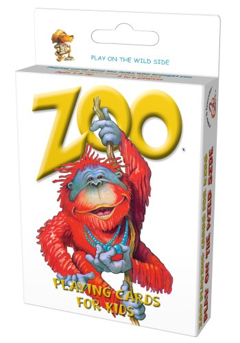 Zoo Playing Cards for Kids