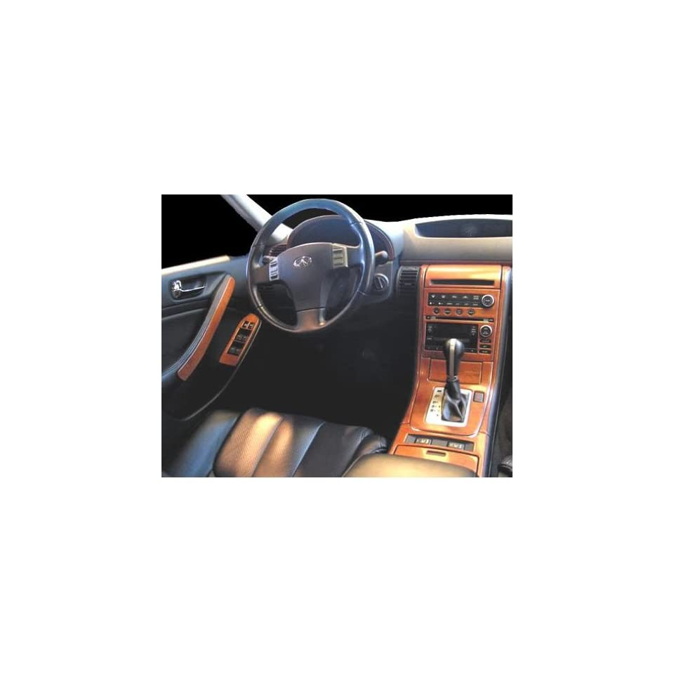 INFINITI G35 G 35 G 35 INTERIOR BURL WOOD DASH TRIM KIT SET 2005 2006