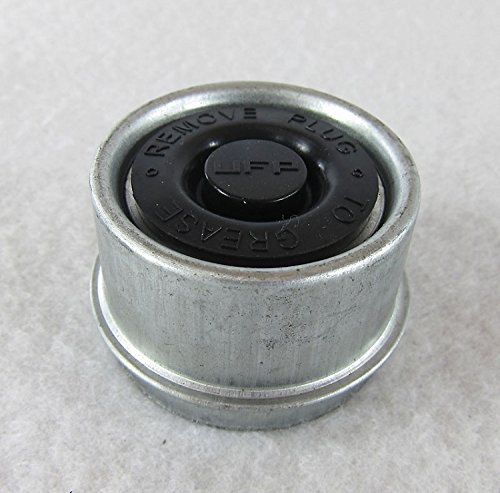 1 980 Ez Lube Bearing Zinc Plated Grease Dust Cap Amp Plug