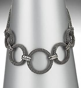 Limited Collection Olympia Ring Mesh Collar Necklace