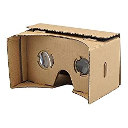 DOMO nHance VRC57 Magnet Switch Universal Virtual Reality 3D and Video VR Headset for Smart Phones upto 5.7 Screen - Inspired by DIY Google Cardboard