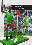 MWS2454 Figura del futbolista ROGER MILLA a escala 1:9 / 16 cm (Edición limitada)