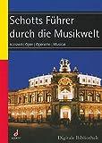 Schott Führer durch die Musikwelt Konzert Oper Operette Musical schott music software CD ROM SMS 122