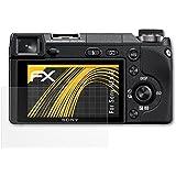 3 x atFoliX Schutzfolie Sony NEX-6 Folie Displayschutzfolie - FX-Antireflex blendfrei