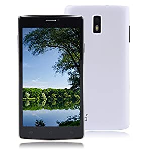 JIAKE G6 5.5 Inch WIFI 3G Dual SIM Dual Standby Smartphone MTK 6572 Dual Core 4GB Android 4.2.2 Dual Cameras GPS Bluetooth FM Radio Message (SMS/MMS) 5.5