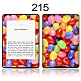 TaylorHe Vinyl Skin Decal for Amazon Kindle Paperwhite Ultra-slim protection for Kindle MADE IN BRITAIN FREE UK DELIVERY Design of Colourful Jellybeans