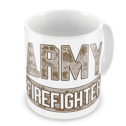 Coffee Mug Army Firefighter, Camo - Neonblond