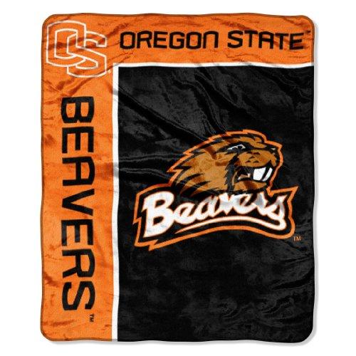 "Ncaa Oregon State Beavers 50-Inch-By-60-Inch Raschel Plush Throw ""School Spirit"" Design front-503822"