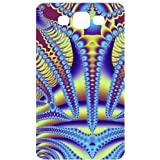Abstract Yellow Red Back Cover Case for Samsung Galaxy S3 / SIII / I9300
