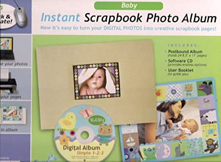 Baby Instant Scrapbook Photo Album