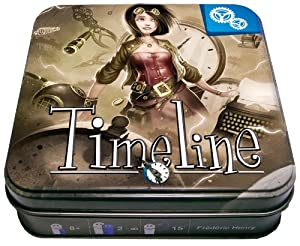 Asmodee PJHA03 Jeu d'ambiance Timeline: Jeux et