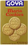 Goya Maria Cracker Roll Cookies, Family Pack, 28.2 Ounce (Pack of 6)