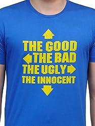 Rootstock Men's Cotton T-shirt RSAW15/22/L_Blue_Large