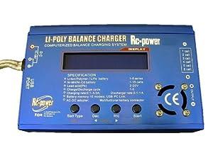 LiPo NIMH Balancer Schnell Ladegerät + 220V Netzteil LG3