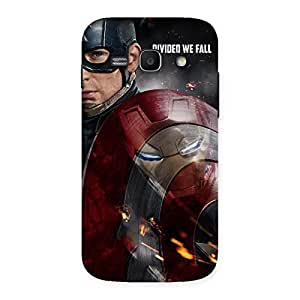 Gorgeous Divide Multicolor Back Case Cover for Galaxy Ace 3