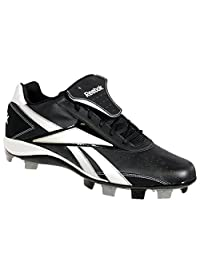 Reebok 18069 VERO IV LOW MSL Mens Baseball Cleats Black/White 15 M