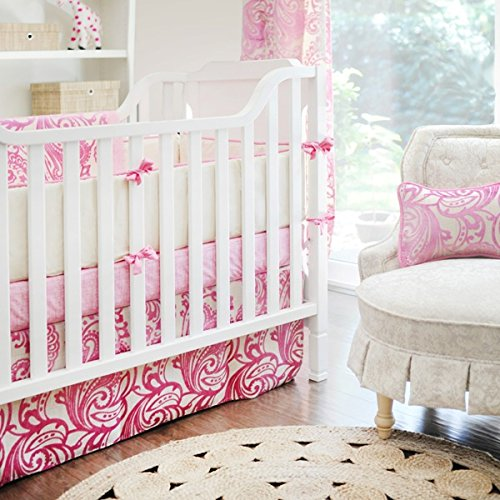 New Arrivals 4 Piece Crib Bed Set, French Quarter - 1